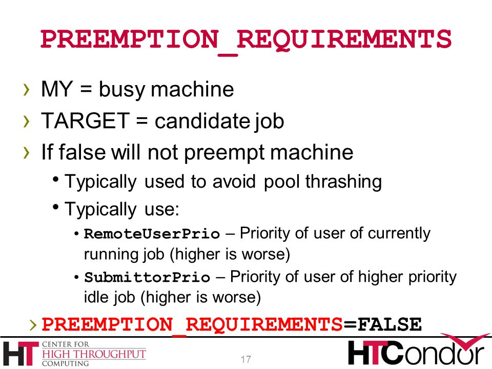 PREEMPTION_REQUIREMENTS