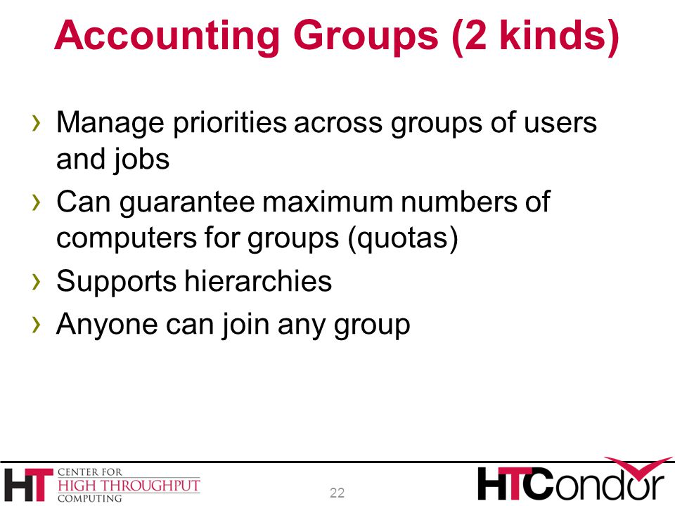 Accounting Groups (2 kinds)