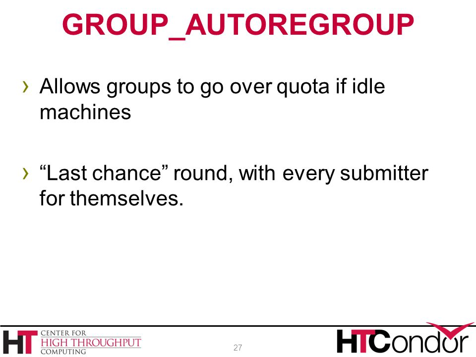 GROUP_AUTOREGROUP Allows groups to go over quota if idle machines