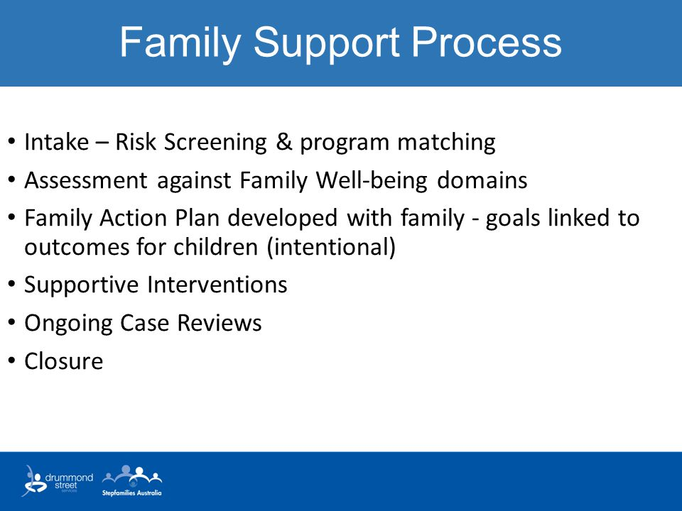 Family Support Process