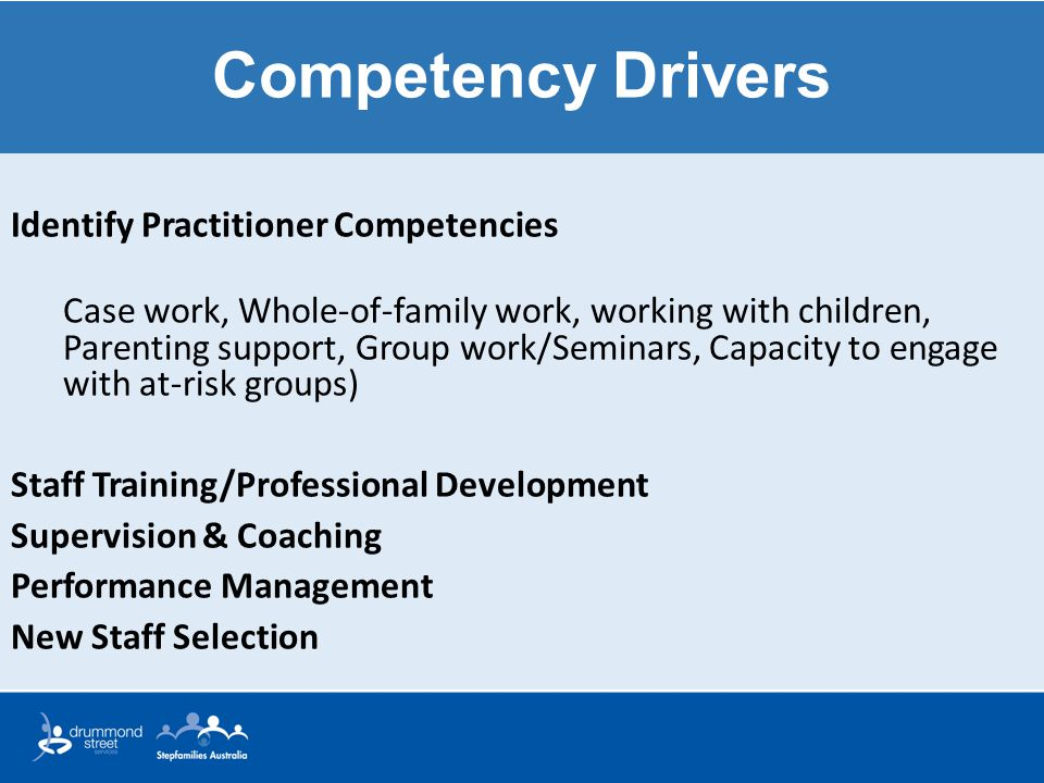 Competency Drivers