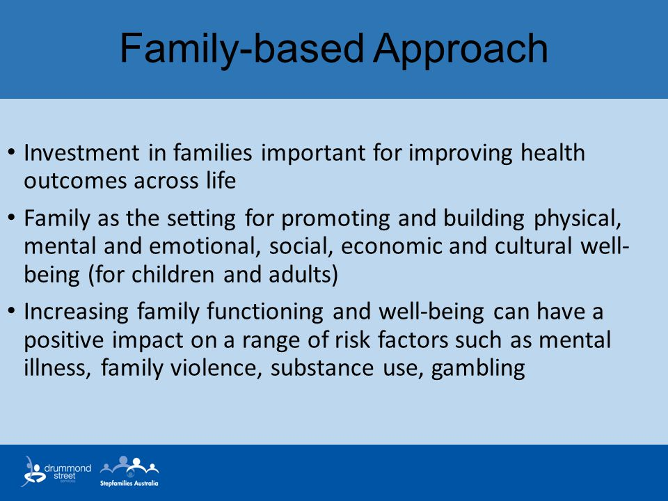 Family-based Approach