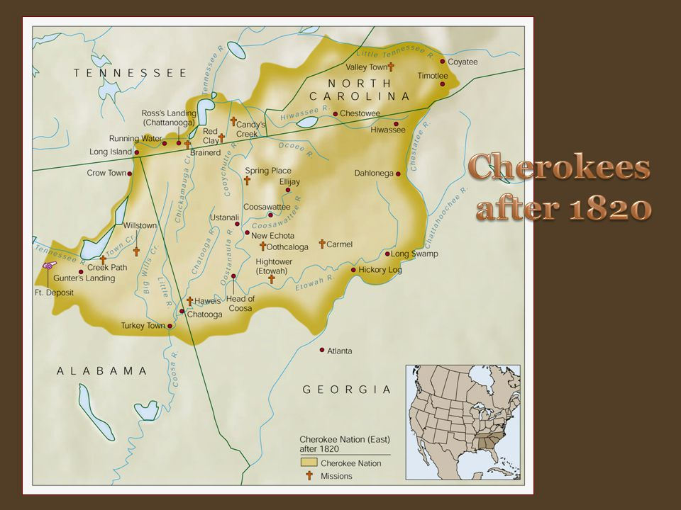 Cherokees after 1820