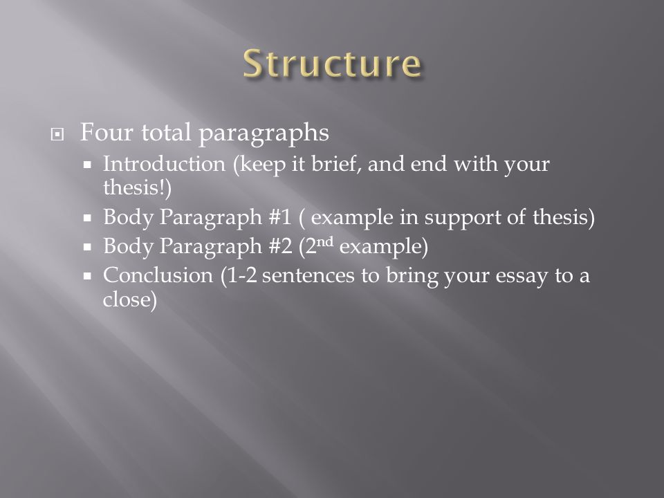 writing an expository essay ppt  7 structure four total paragraphs