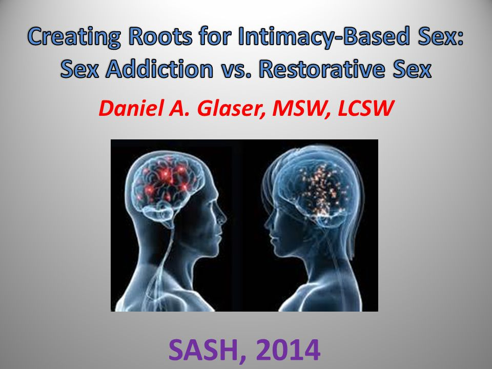 SASH, 2014 Creating Roots for Intimacy-Based Sex: