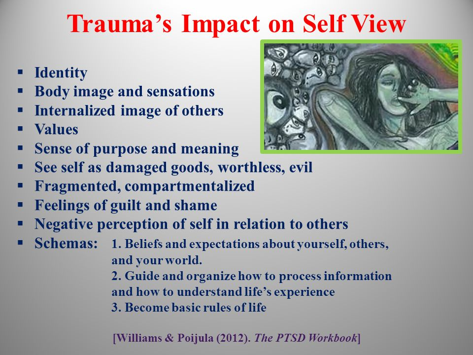 Trauma's Impact on Self View