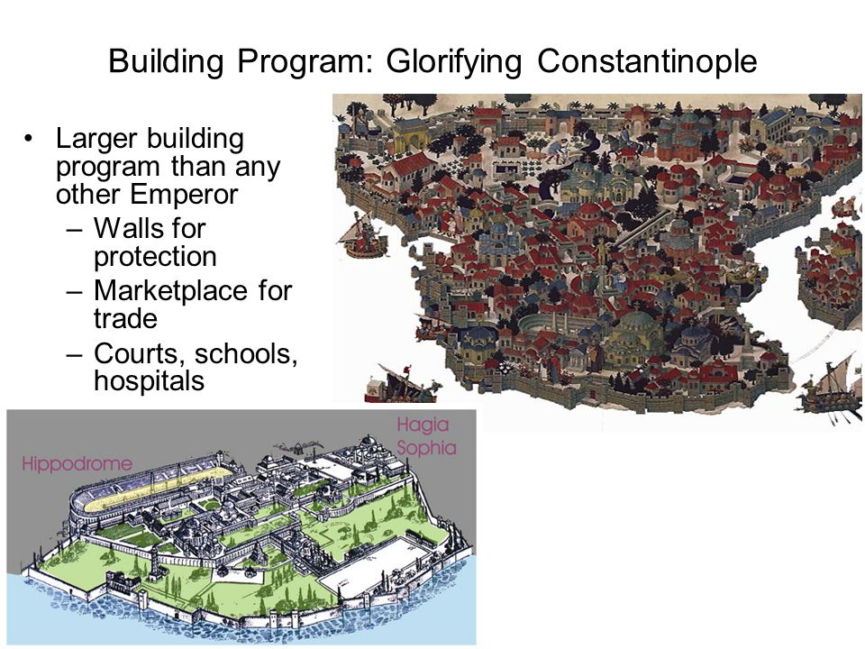 Building Program: Glorifying Constantinople