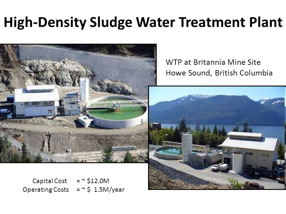High-Density Sludge Water Treatment Plant