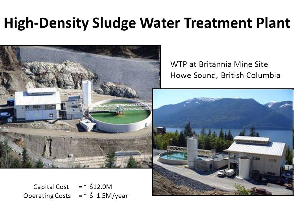 High-Density Sludge Water Treatment Plant