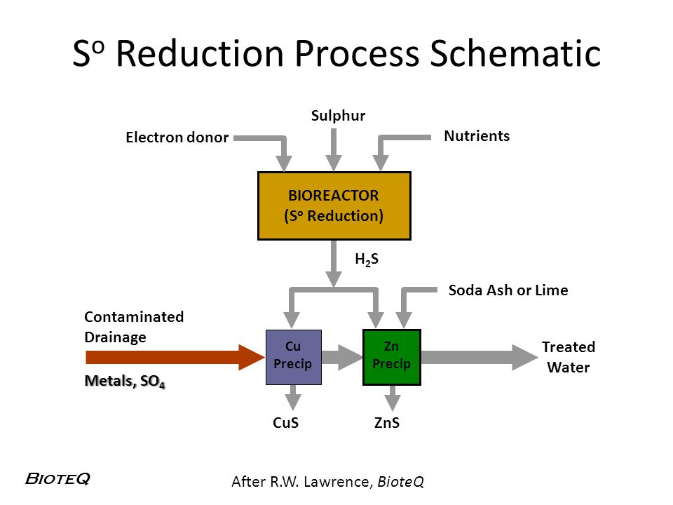So Reduction Process Schematic