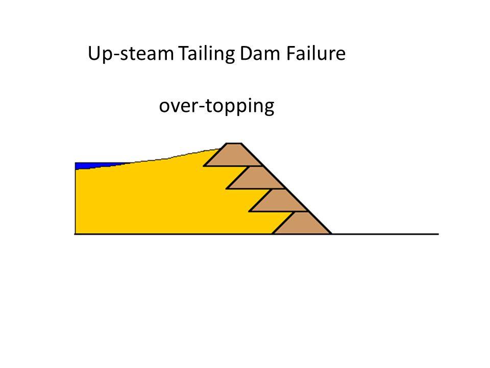 Up-steam Tailing Dam Failure