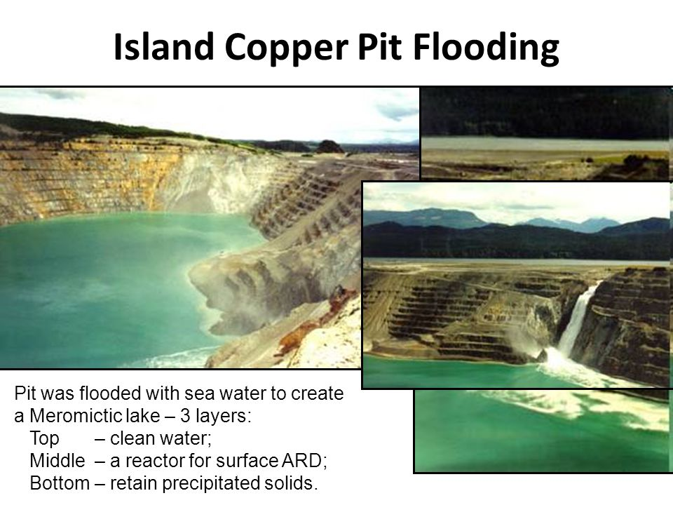 Island Copper Pit Flooding