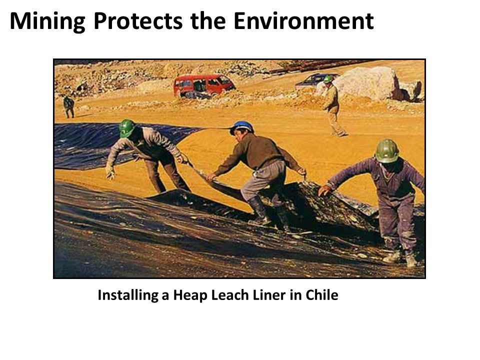 Mining Protects the Environment