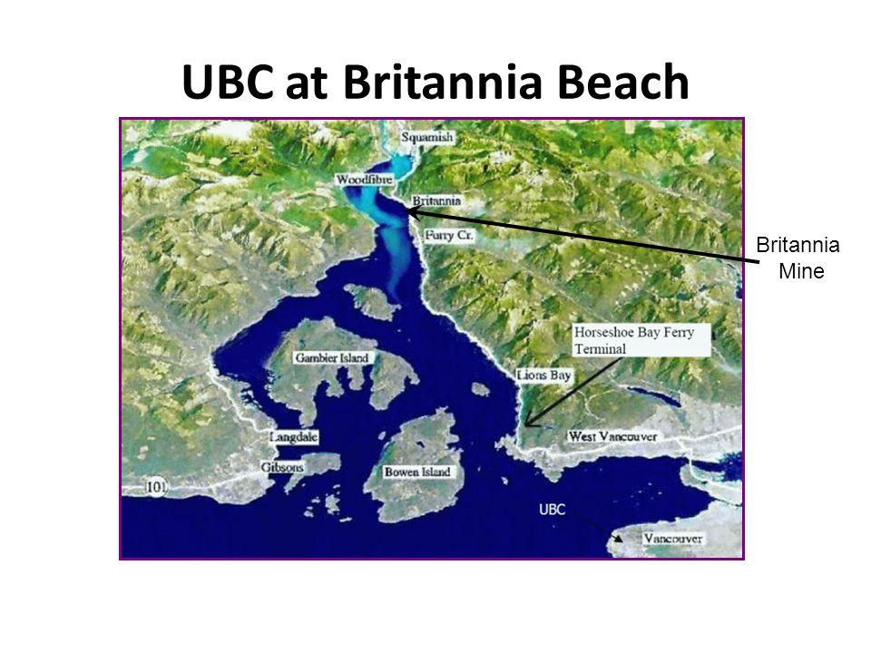UBC at Britannia Beach Britannia Mine
