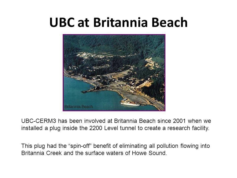 UBC at Britannia Beach Britannia Beach.