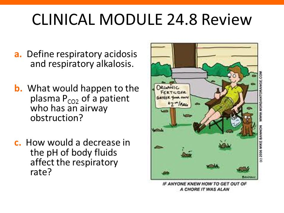 CLINICAL MODULE 24.8 Review