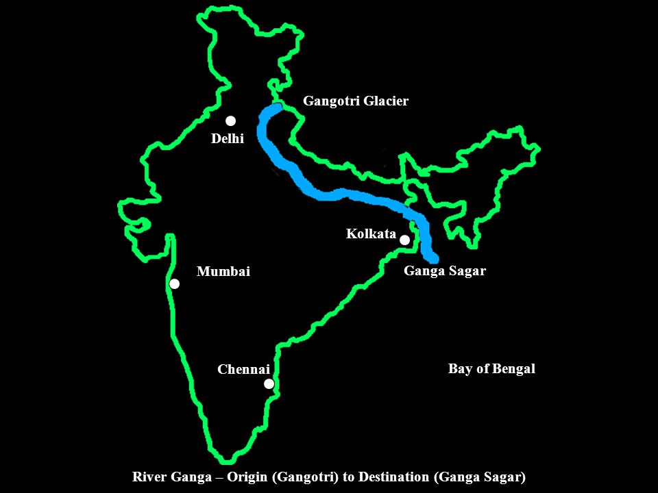 River Ganga – Origin (Gangotri) to Destination (Ganga Sagar)