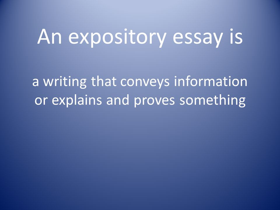 business writing vs expository essays In this piece, you will learn about expository writing, expository essay examples and types of expository papers read on.