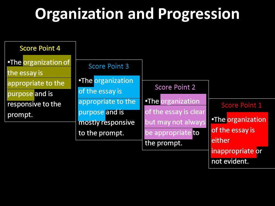 Organization and Progression