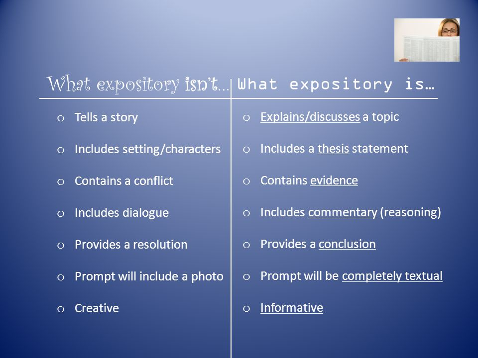 writing an expository essay ppt video online  5 what expository