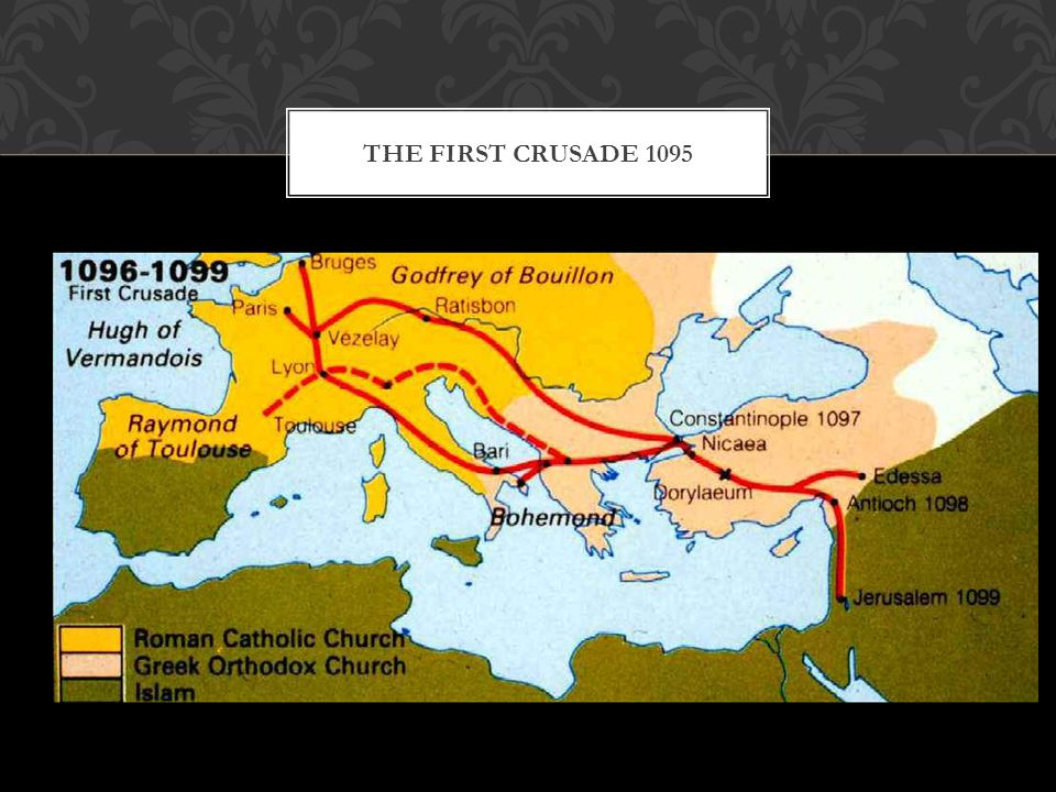The First Crusade 1095