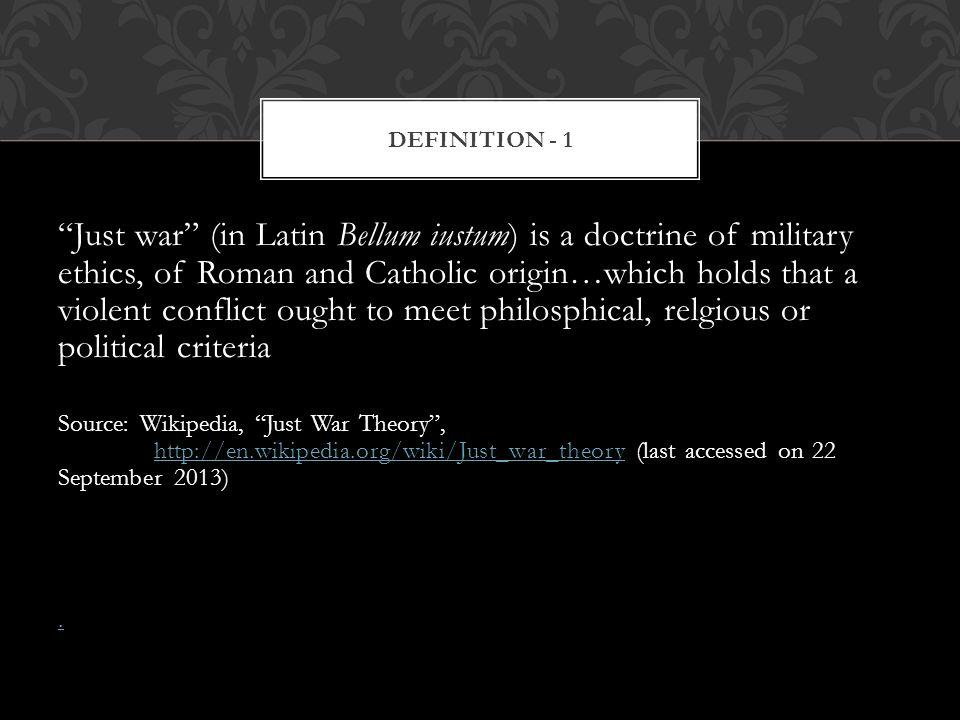 Definition - 1