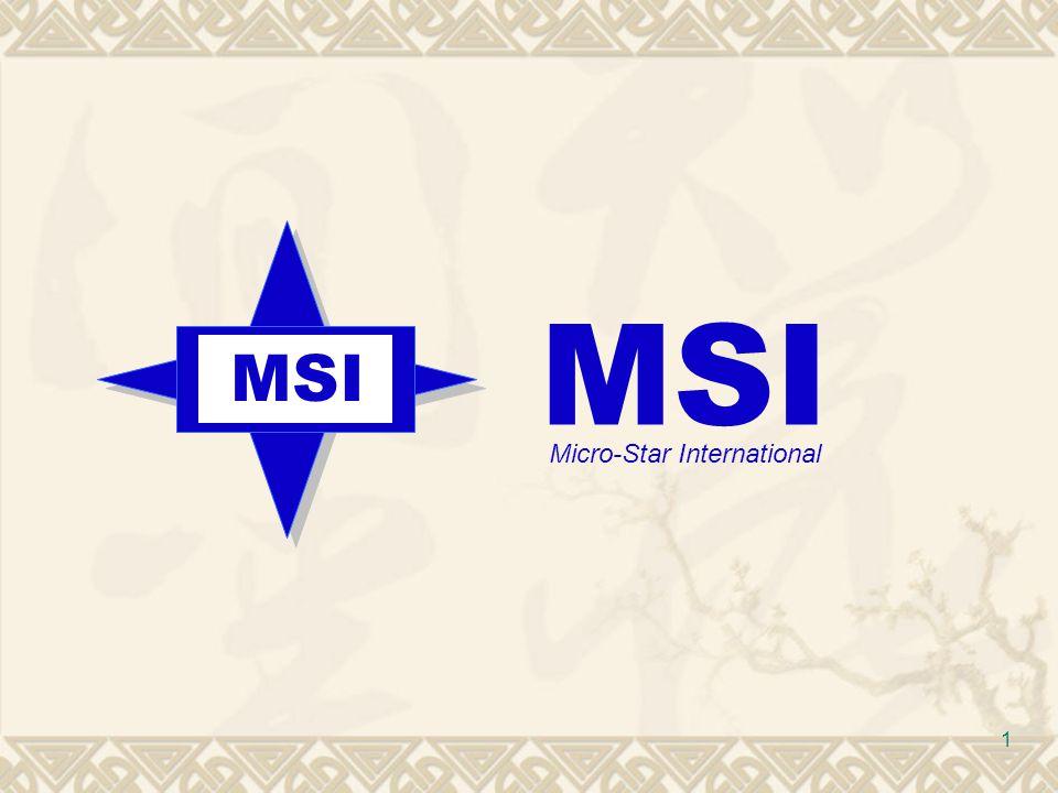MSI MSI Micro-Star International
