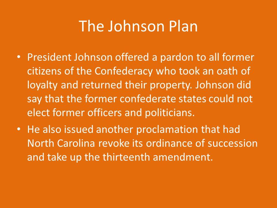 The Johnson Plan