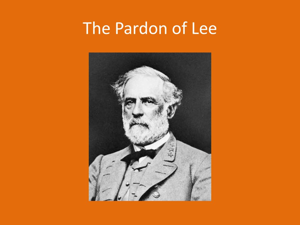 The Pardon of Lee