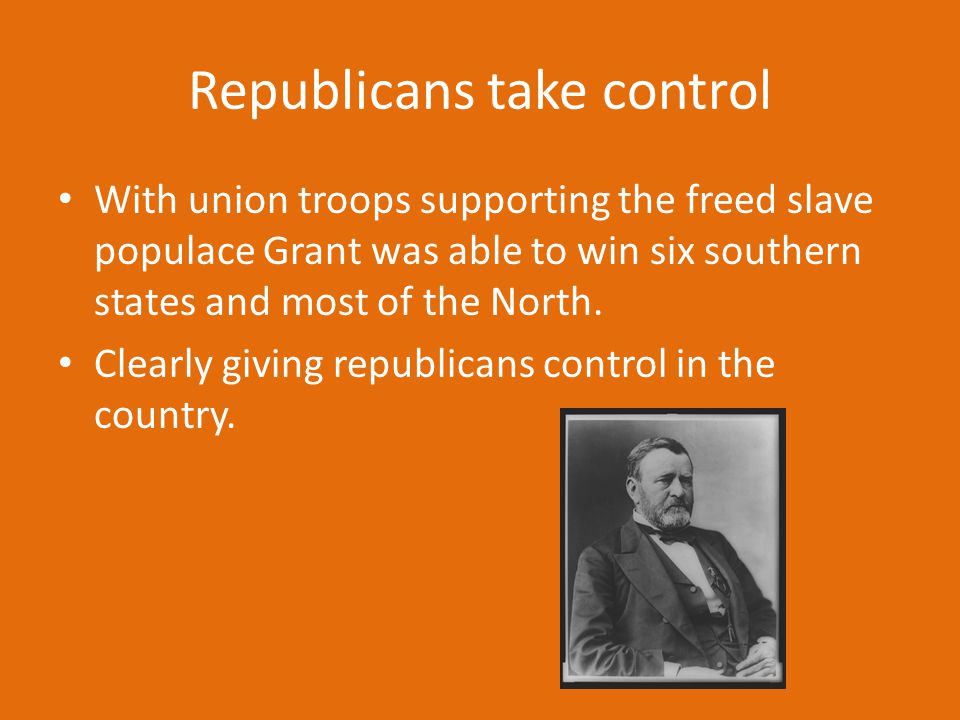 Republicans take control