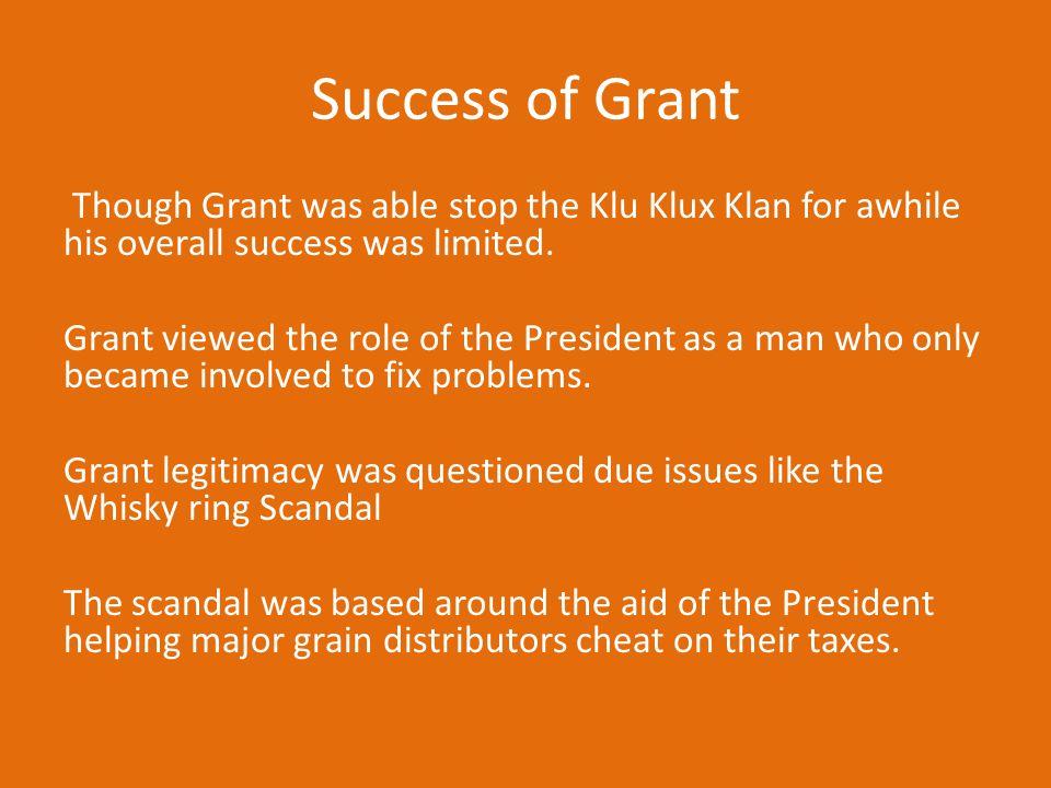 Success of Grant