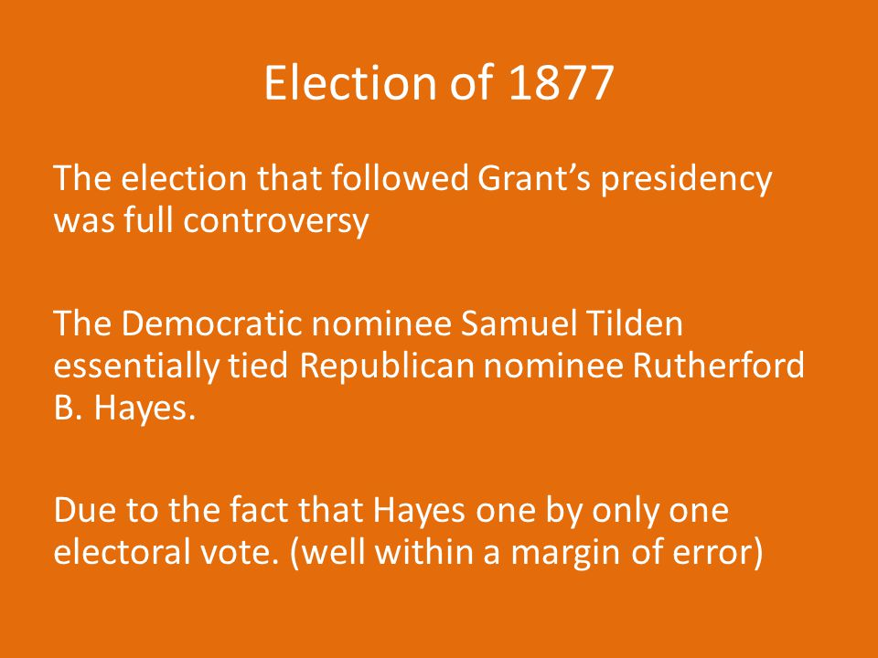 Election of 1877