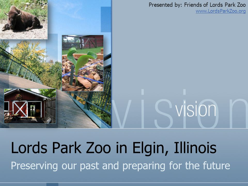Lords Park Zoo in Elgin, Illinois