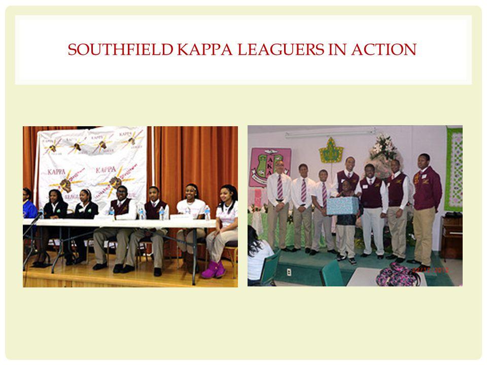 SOUTHFIELD KAPPA LEAGUERS IN ACTION