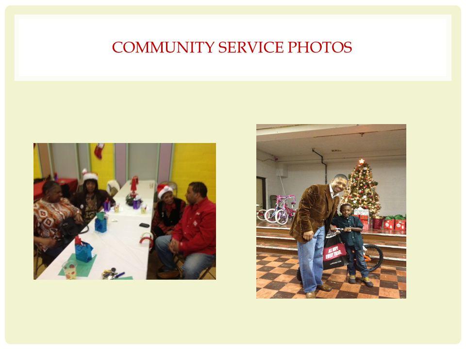 COMMUNITY SERVICE PHOTOS