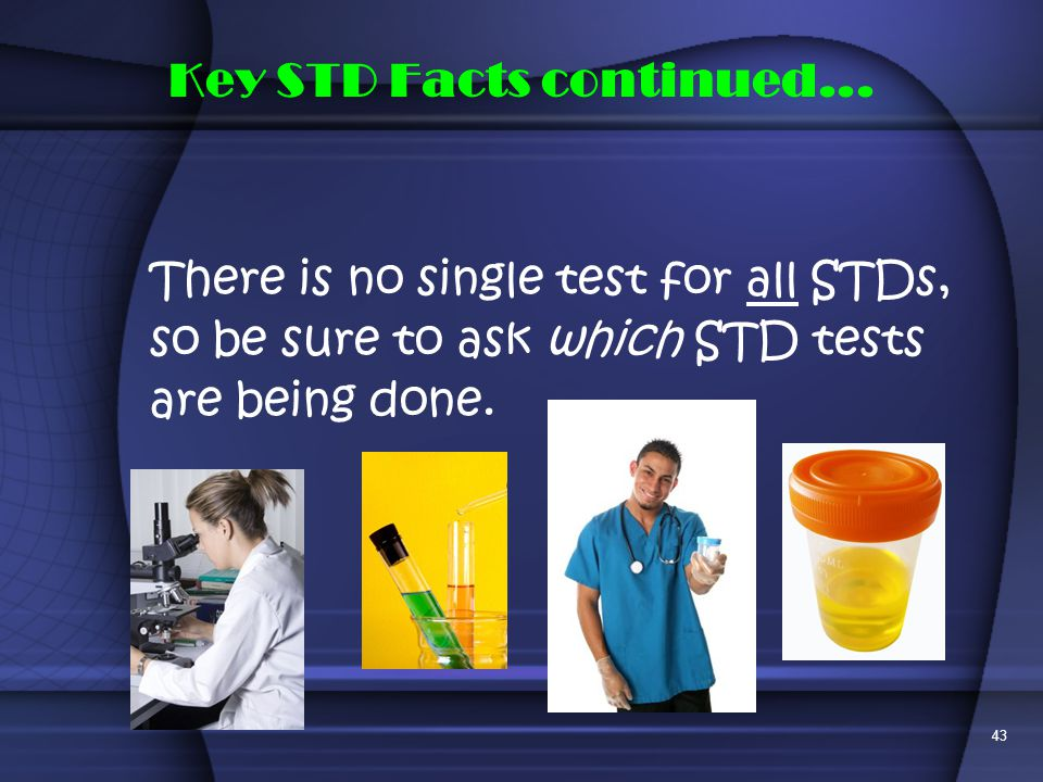 Key STD Facts continued...