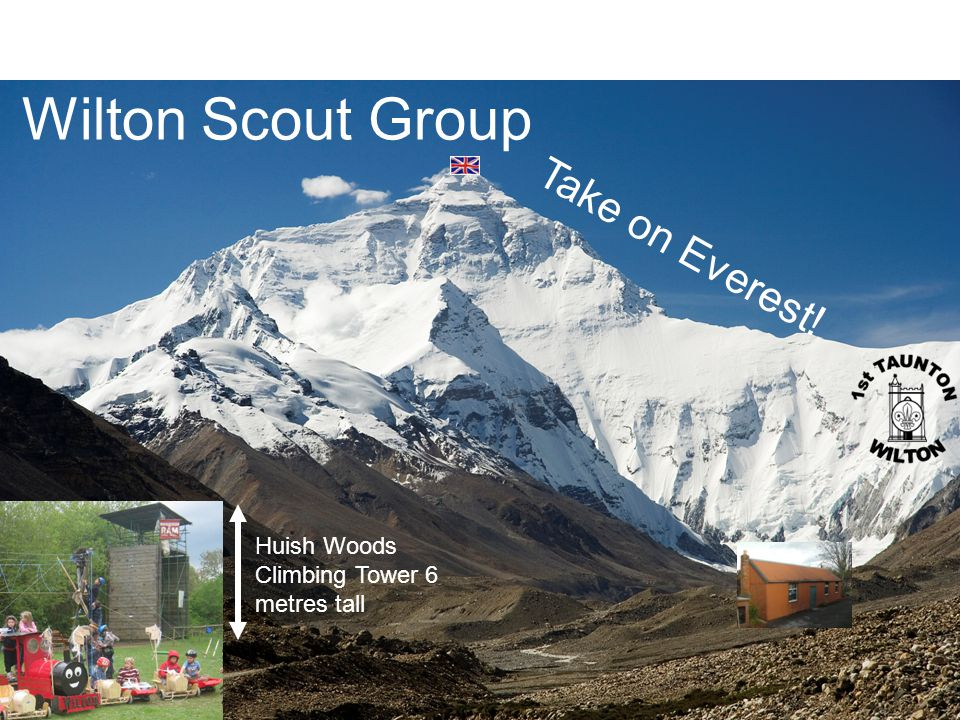Wilton Scout Group Take on Everest!
