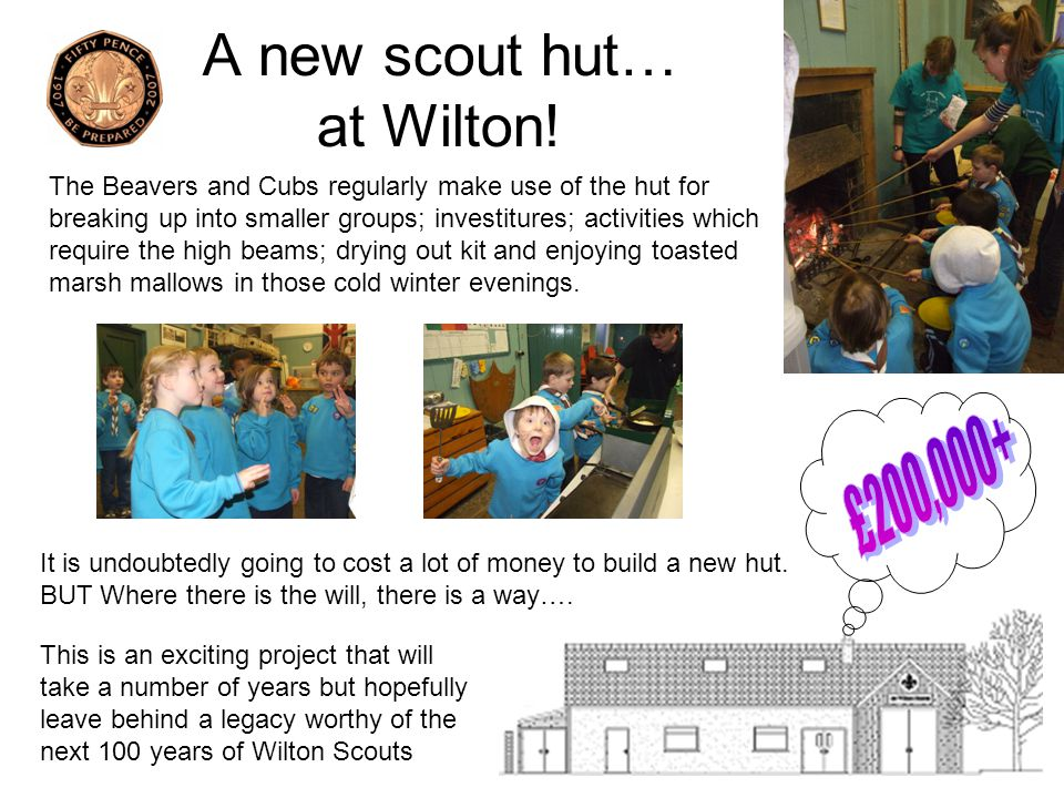 A new scout hut… at Wilton!