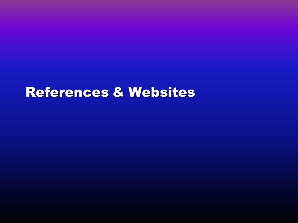 References & Websites