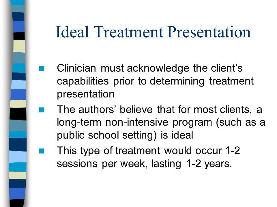 Ideal Treatment Presentation
