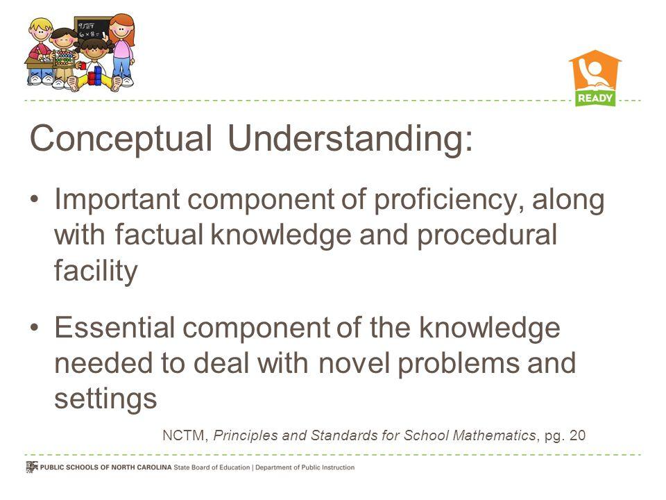 Conceptual Understanding: