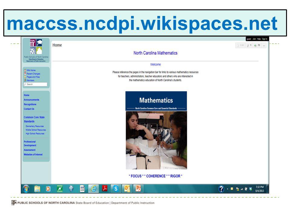maccss.ncdpi.wikispaces.net