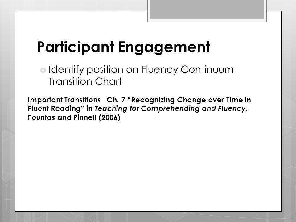 Participant Engagement