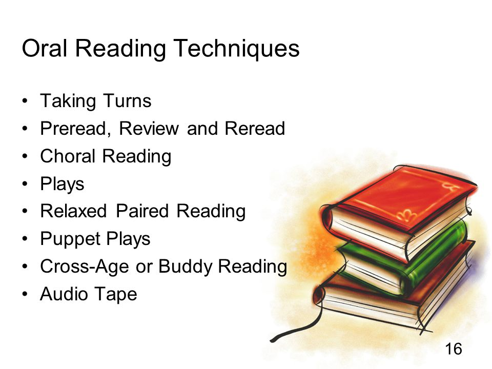 Oral Reading Techniques