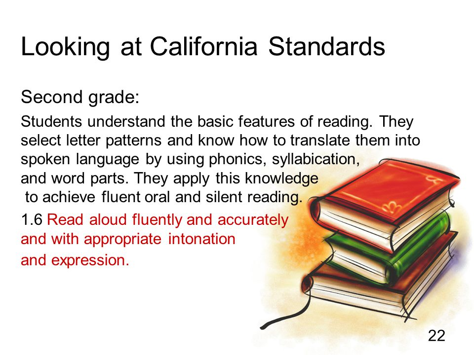 Looking at California Standards