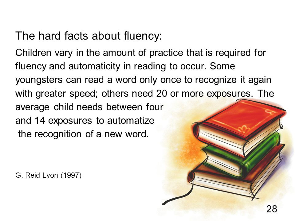 The hard facts about fluency: