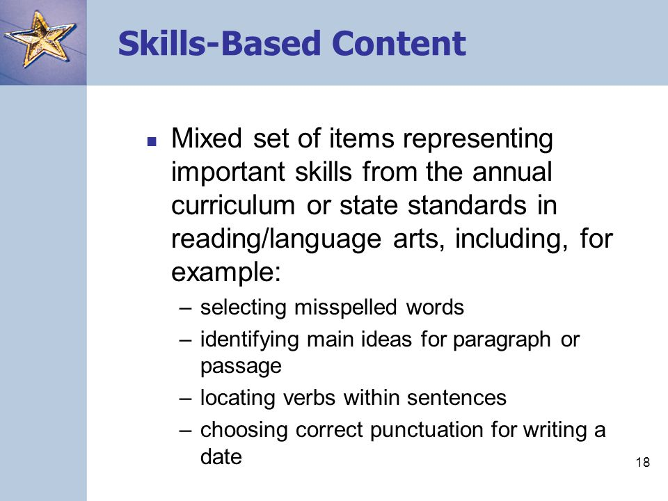 Skills-Based Content