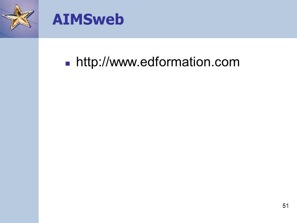 AIMSweb http://www.edformation.com