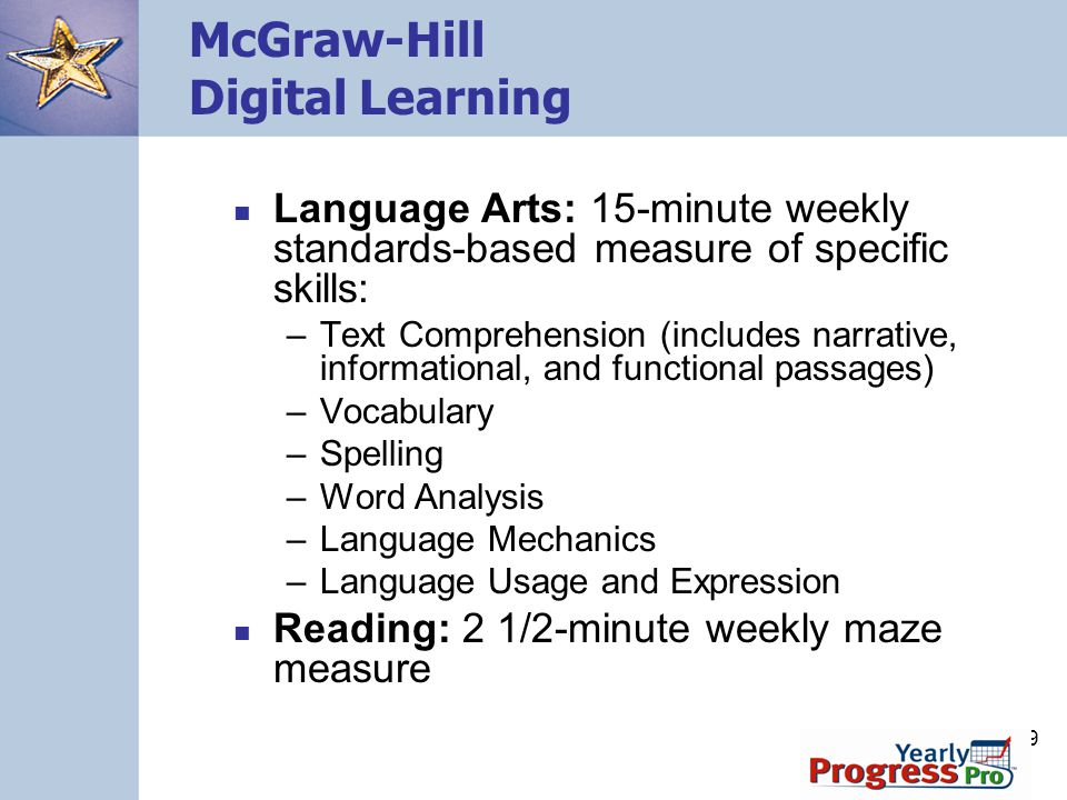 McGraw-Hill Digital Learning