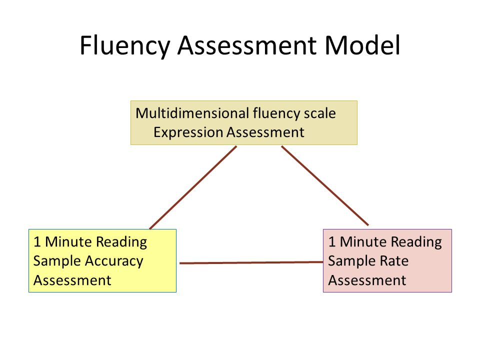 Fluency Assessment Model